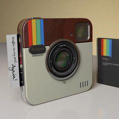 instagram camera / paper