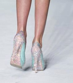 My idea of a Tiffany shoe!!