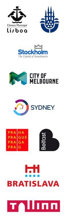 City logos - design