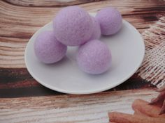 Lilac Felt Balls Wool Beads Felted Bead 100% Wool Felt Pom Poms Balls Wool Pompoms Handmade Mother's day gift DIY Garland Mobile Felt Bows, Baby Teethers, Diy Garland, Handmade Felt, Etsy Shipping, Felt Flowers, Pom Poms, Before Christmas, Mother Day Gifts