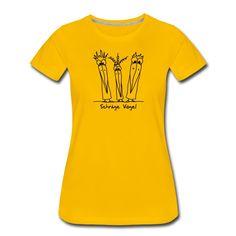 Schräge Vogel, coole Typen. So wie du? Hol dir ein Shirt mit diesem witzigen Design in meinem Shop. Dort gibt es auch noch mehr Farben und andere Produkte. Mens Tops, Design, Shopping, Fashion, Classy Men, Cinch Bag, Women's T Shirts, Birds, Products