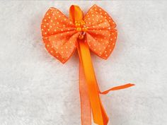 15pcs Organza Bow Flowers Streamers Wedding Decoration Appliques-(pick Color) (Orange) *** Check out the image by visiting the link.