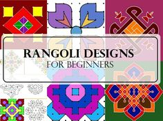 Top 20 Best Rangoli Designs With Dots For Diwali 2015 Photos Of Simple Dot