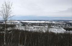 Vue du sentier, Mont Saint-Grégoire, Québec, décembre 2016 Saint Grégoire, Nature, Travel, Outdoor, Mountains, Pathways, Outdoors, Naturaleza, Viajes