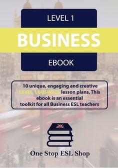 This is the level 1 Business English course eBook designed for teaching beginner business and work students.