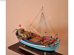 İnebolu Çektirmesi - El Emeği Ahşap Model Gemi - Ahşap Monte Maket Alışverişte İlk Adres sahibinden.com'da - 232488486