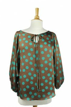 Poka-Dot top from Ivy Jane! Only two left at cocobella boutique!  www.ivyjane.com