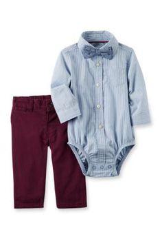 Carter's 2-Piece Dress Me Up Set - Blue - 12 Months
