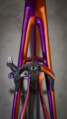 Custom Z-Zero: Half & Half // Pearlized Kandy Purple // Pearlized Kandy Orange