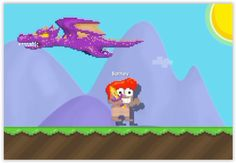 Legendary Dragon! It come with a sword with a giant dragon the dragon is a fire dragon but colour is purple
