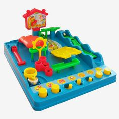 Screwball Scramble is an action packed game. Try to beat the timer as you guide the ball through this crazy maze course.