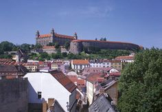 Bratislava castle and Old Town