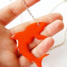 The Craftinomicon: Shrink Plastic Shark Necklace