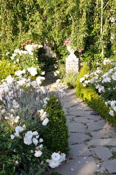 Secret garden path by B. Giannetti