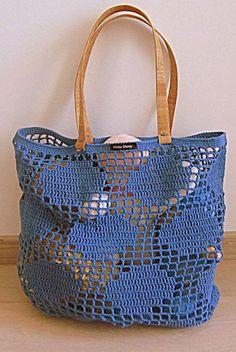 bolsa azul praia