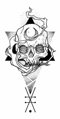 New Drawing Skull Ink Ideas Tatto Skull, Tatoo Art, Skull Art, Body Art Tattoos, Tattoo Design Drawings, Tattoo Sketches, Art Sketches, Art Drawings, Tattoo Designs