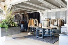 Club Monaco Pop-up Boutique in Noma Restaurant, Copenhagen – Denmark » Retail Design Blog