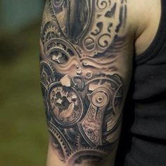 Tattoo- caught in time...love the detail