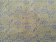 Items similar to Owl Grey and yellow, black and white abstract print fabric, Fabric made in Japan on Etsy Black And White Abstract, Yellow Black, Abstract Print, Printing On Fabric, Cotton Fabric, Owl, Etsy Shop, Japan, Handmade Gifts
