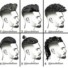 7908 Likes 107 Comments Men's Hairstyles & Fashion Style (Hairstylemens) on Pelo Hipster, Hipster Man, Barber Haircuts, Haircuts For Men, Hair And Beard Styles, Curly Hair Styles, Goatee Styles, Gents Hair Style, Fade Haircut