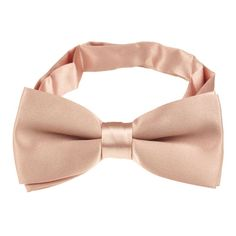 Blush Colored Ties | Home > Bow Ties > Solid Band Collar Bow Ties > Pink and Coral Shades >