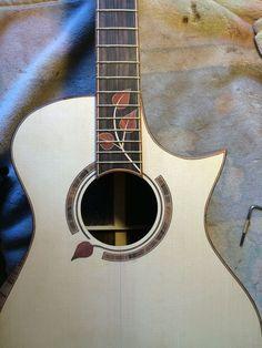 Acoustic Guitars – Page 5 – Learning Guitar Classical Acoustic Guitar, Acoustic Guitar Case, Guitar Art, Music Guitar, Cool Guitar, Dj Music, Music Life, Unique Guitars, Custom Guitars