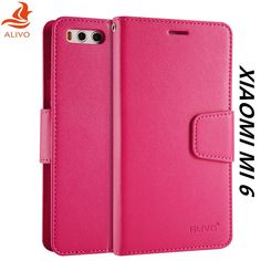Xiaomi Mi 6 Case Flip Leather + TPU Silicone Material Back Cover For Xiaomi Mi6 Protector Phone Bag Cases Accessory Capa Coque #Affiliate