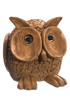 ALLSTATE Driftwood Chip Owl Decoration available at #Nordstrom