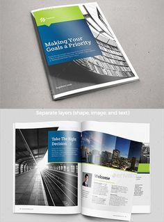 Best Professional Brochure Templates  More Brochures