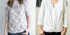 Occasion, Tops, Women, Diy, Fashion, Spring Summer, Sewing, Paper Pieced Patterns, Moda