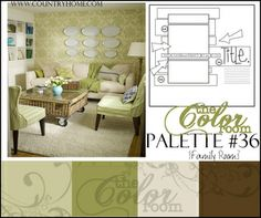 The Color Room - Palette #36