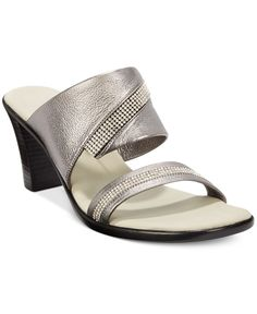 Onex Avery Embellished Block-Heel Sandals