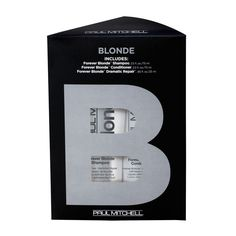 Pin for Later: Blondes Will Certainly Have More Fun After Using These Products Paul Mitchell Blonde Take Home Kit Paul Mitchell Blonde Take Home Kit (£19)