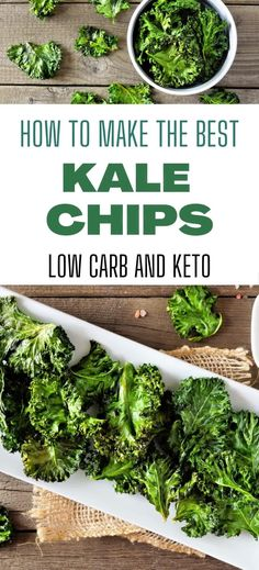 Theses healthy homemade crispy kale chips are so easy to make with this simple recipe. Great for a snack or an appetizer for all the family. Suitable for low carb, keto, vegan and gluten free lifestyles. Yummy Healthy Snacks, Healthy Sweet Treats, Healthy Snacks For Kids, Easy Healthy Recipes, Whole Food Recipes, Homemade Kale Chips, Making Kale Chips, Kale Chip Recipes, Eating Raw