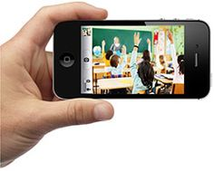Try the SmarterCookie app to easily record from your iPhone, iPad, or iPod touch. Known for their video coaching.
