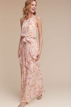 Breezy floral gown