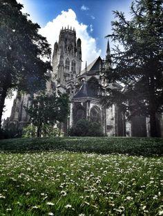 église saint ouen - rouen - france
