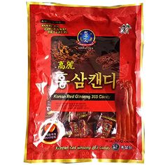 Made of an extract of well grown redk ginseng roots. The mixture of extracts and powder is a well grown red ginseng roots. You can feel the native aroma and astringent taste of ginseng with a touch. Good for refreshment while driving and jogging. Efficacy of Ginseng Candy -Boost the Immune System and Boost Energy and Stamina. Size : 300g