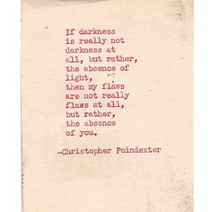 Their tears were their love poem #14 written by Christopher Poindexter