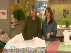 How to Make a Simple Duvet Cover Videos   Crafts How to's and ideas   Martha Stewart