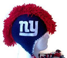 Crochet New York Giants Hat New York Giants by AWorldCreated