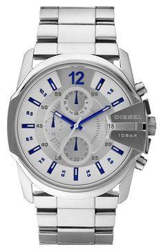 9ec4f49b8e75 DIESEL®  Master Chief  Chronograph Bracelet Watch