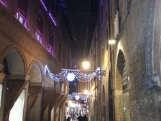 Christmas Lights in Bologna