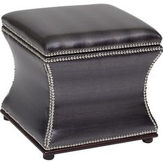 I would keep my magazines in here:Storage Stool, Shimmer Metallic - $229.00