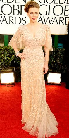 Ellie Saab gown with floral appliques