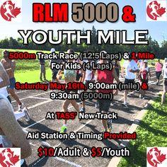RLM 5000 & Youth Mile