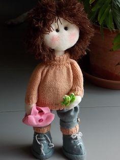 Denny....bambola in panno
