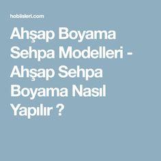 Ahşap Boyama Sehpa Modelleri - Ahşap Sehpa Boyama Nasıl Yapılır ?