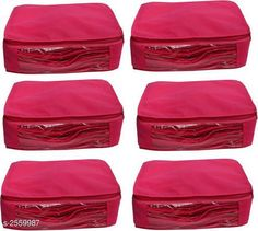 Apparel Storage Stylish Trendy Non-Woven Saree Cover (Pack Of  6) Material: Non-Woven Size (L X B X H): 42 cm x 15 cm x 15.5 cm Description: It Has 6 Pieces Of Saree Covers Country of Origin: India Sizes Available: Free Size   Catalog Rating: ★4 (275)  Catalog Name: Dream Home Stylish Trendy Non-Woven Saree Cover Combo CatalogID_345217 C131-SC1628 Code: 362-2559987-345