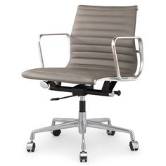 FREE SHIPPING! Shop AllModern for Meelano Leather Executive Managerial Chair - Great Deals on all  products with the best selection to choose from!